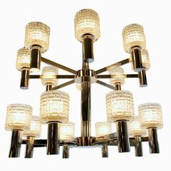 Moderne Style Double-Tiered Chandelier
