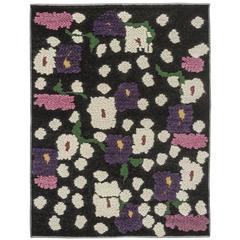 Wool Flower Rug
