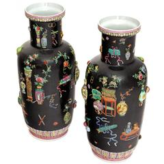 Chinese Porcelain Vases, 20th Century