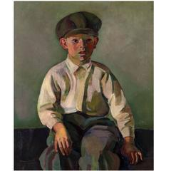 Portrait of a Young Boy (c. 1910) by George Bellows