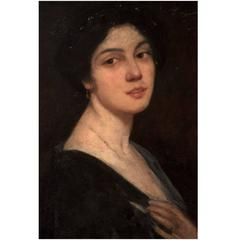Mrs. John C. Nagel circa 1900 by Robert Henri