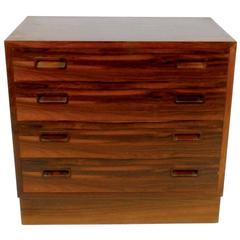 Petite Rosewood Chest from Denmark