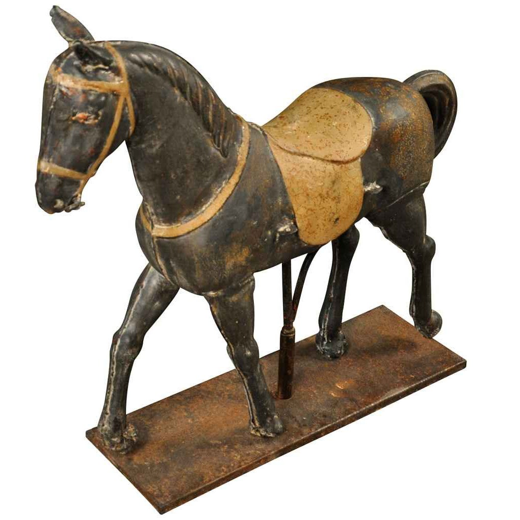 Delightful French 19th Century Toy Horse