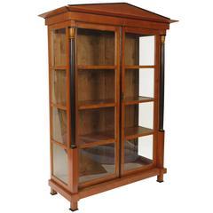 19th century Austrian Biedermeier Style Bookcase - Cabinet