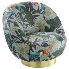 Tropical Ingrid Swivel Armchair
