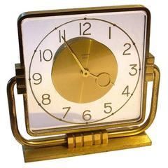 1930s, Art Deco Modernist Clock by Bayard