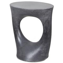 Short Charcoal Kreten Side Table from Souda, Made to Order