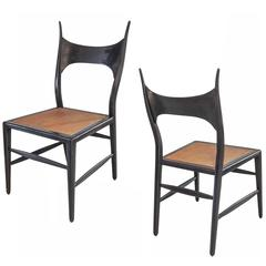 Rare Pair of Chairs by Edward Wormley