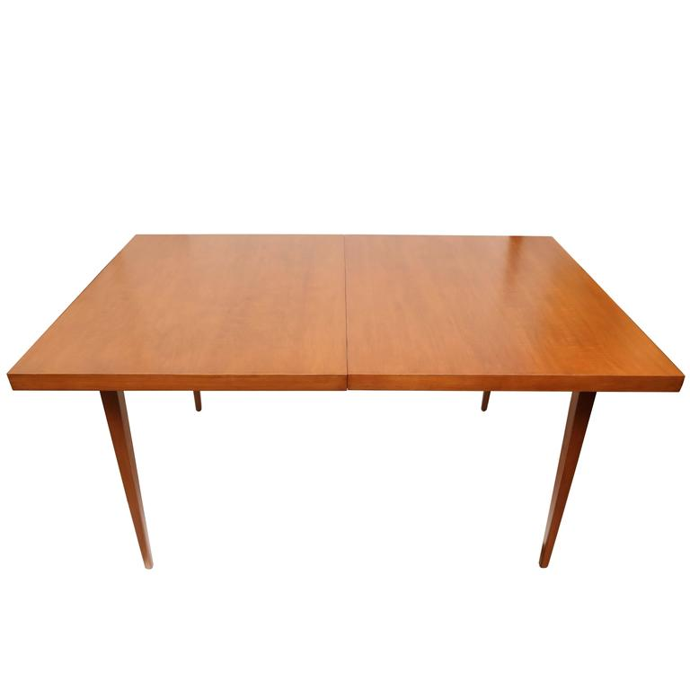 Paul McCobb Dining Table with Two Leaves, USA, 1960s