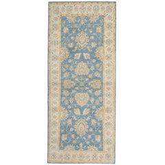 Handmade Runner rugs, Ziegler Style Blue Carpet Runners