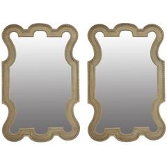 Large Pair of William Kent Style Mirrors