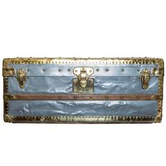 Rare Louis Vuitton Hermetic Zinc Trunk, circa 1885