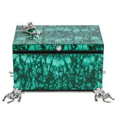 Contemporary, Italian, Malachite Box