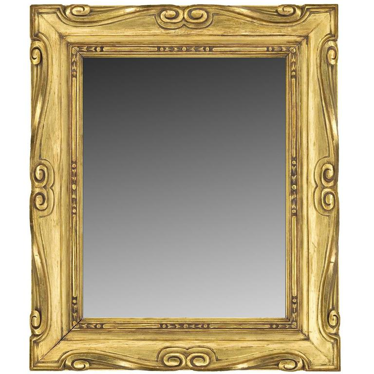 Early 20th Century Style Carved Mirror