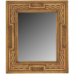 Carved and Gilt Dutch Style Mirror