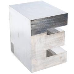 Steel Letter 'E'
