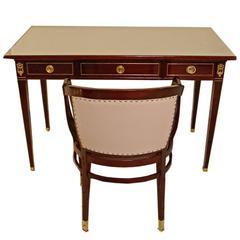 Portois and Fix Writing Desk Armchair Kohn Art Nouveau Vienna made circa 1905