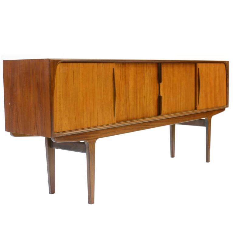 Magnificent Danish Teak Mid-Century Sideboard For Sale