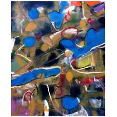 Abstract Mixed Media Painting by John Luckett