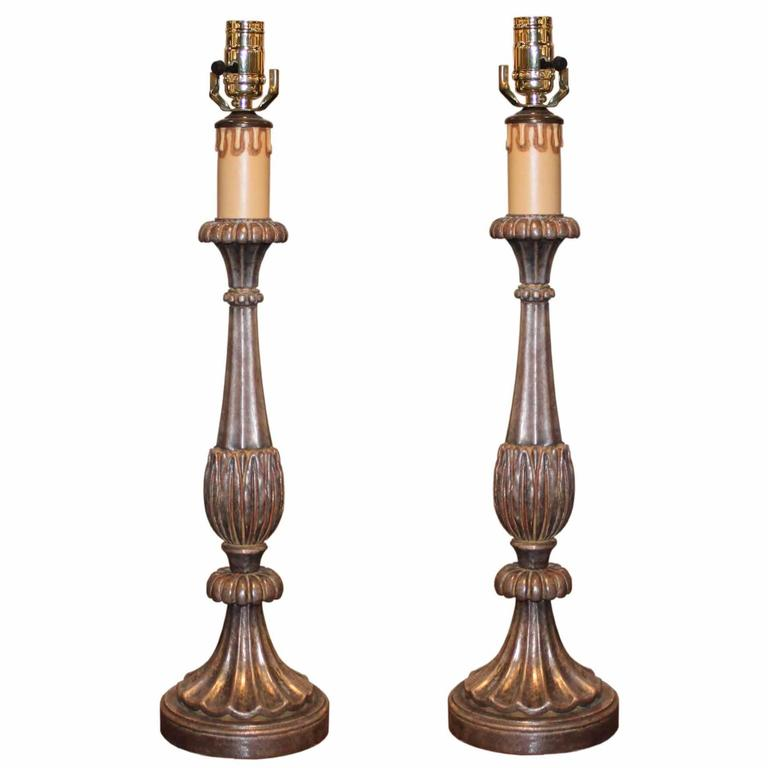 italian hand carved table lamp for sale at 1stdibs. Black Bedroom Furniture Sets. Home Design Ideas