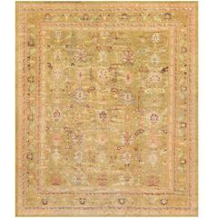Late 19th Century Oushak Rug from Anatolia