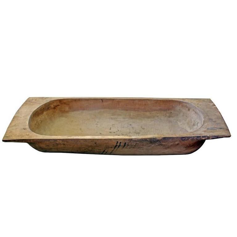 Massive Antique Dough Trough For Sale