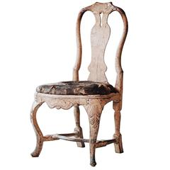 Ordinaire Fine Swedish 18th Century Rococo Chair At 1stdibs