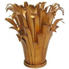 """Bundled Leaves"" Table Lamp Attributed to Arturo Pani, circa 1950"