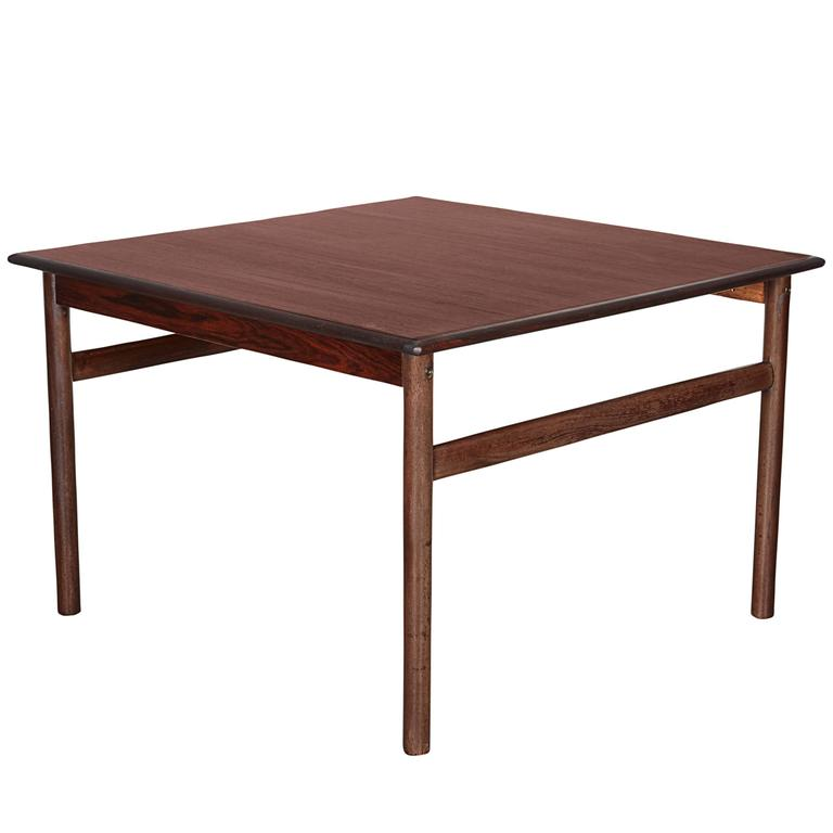 Rosewood Square Side Table 1