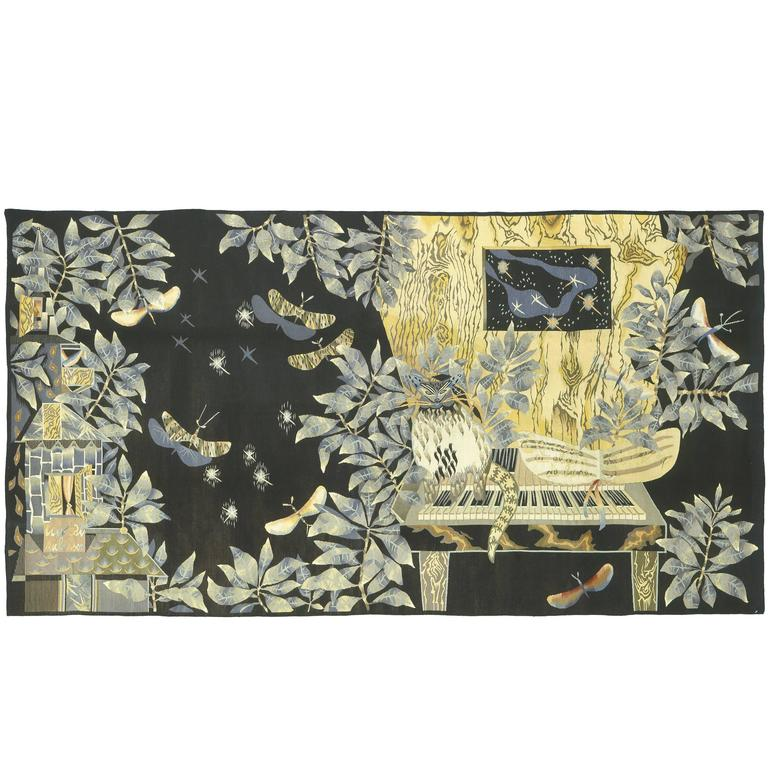 """Sonate et Claire de Lune"", Jean Lurcat, French Tapestry, 1940"