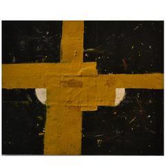 Abstract Mixed Media Painting by Artist John Luckett