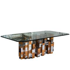 Cityscape Dining Table by Paul Evans for Directional Furniture