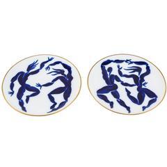 Decorative Plates by Herve Van Der Straeten for Bernardaud
