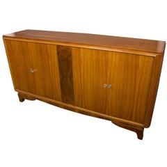 Large French Walnut Sideboard