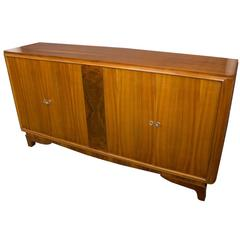 Large 1940s French Walnut Sideboard