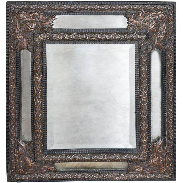19th Century French Cushion Mirror 1