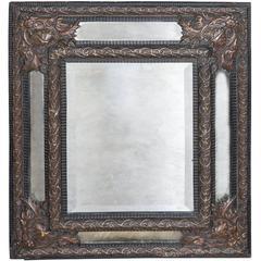 19th Century French Cushion Mirror