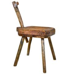 19th Century African Midwife Stool