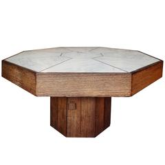Octogonal Shaped Coffee Table