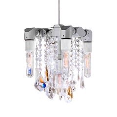 Bryce Collection Five-Bulb Compact Chandelier