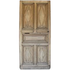 18th Century French Oak Front Door