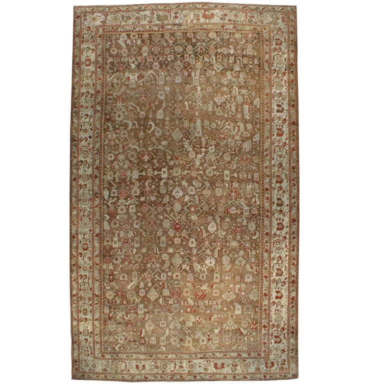 Antique Turkish Ghourdes Carpet For Sale