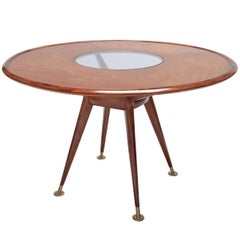 Liceu de Artes 1960s Brazilian Caviuna Dining Table