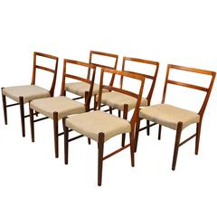 Mid-Century Modern Chairs by Johannes Andersen in Rosewood