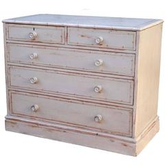 English Dresser in Faux Bamboo Style