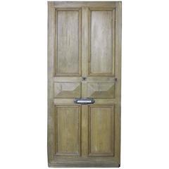 Antique French Oak Front Door