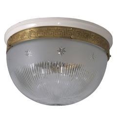 Austro-Hungarian 1905 Ceiling Lamp, Original