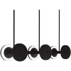 Le Royer Large 01 Pendant in Satin Black by Larose Guyon