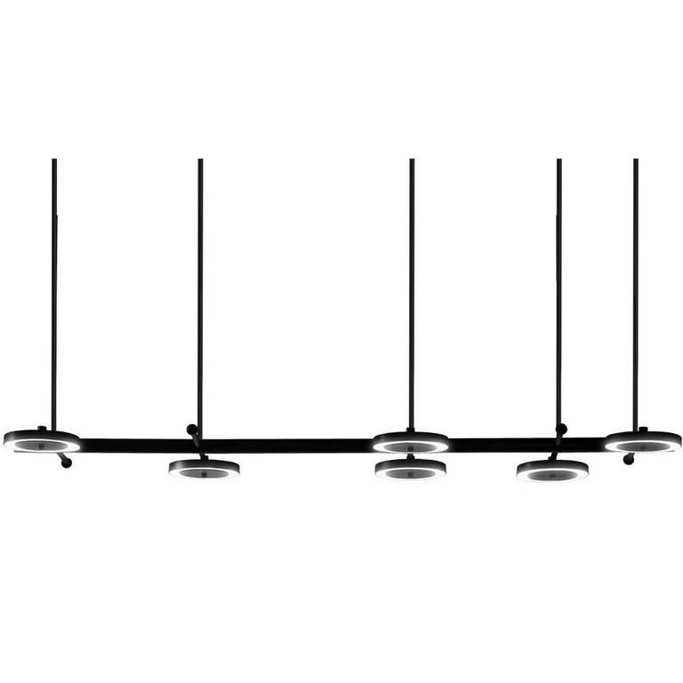 Le Royer Large 02 Pendant in Satin Black by Larose Guyon