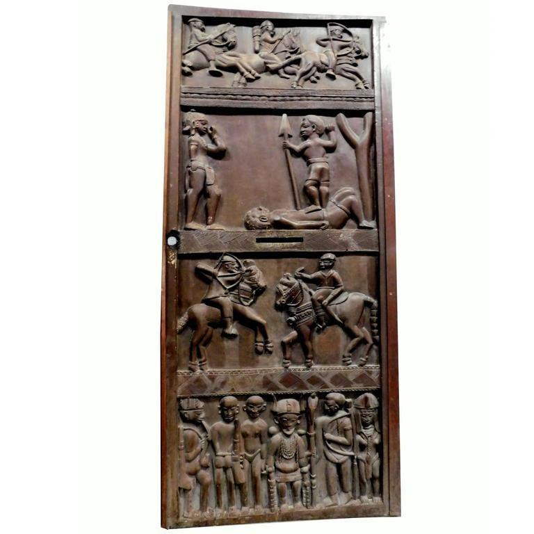Antique Massive Entry Door